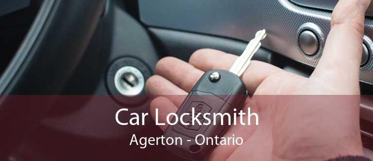 Car Locksmith Agerton - Ontario