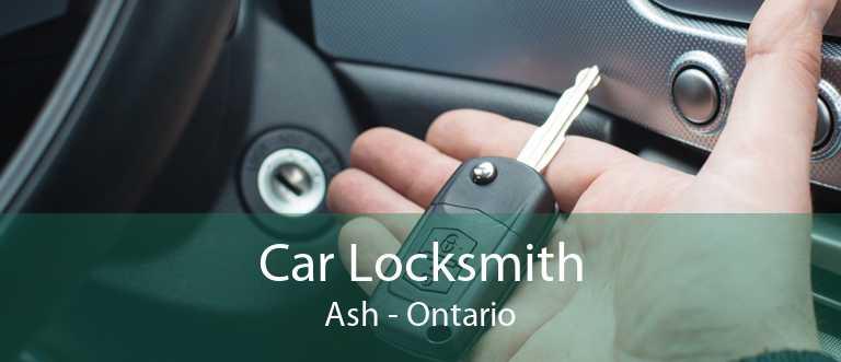 Car Locksmith Ash - Ontario