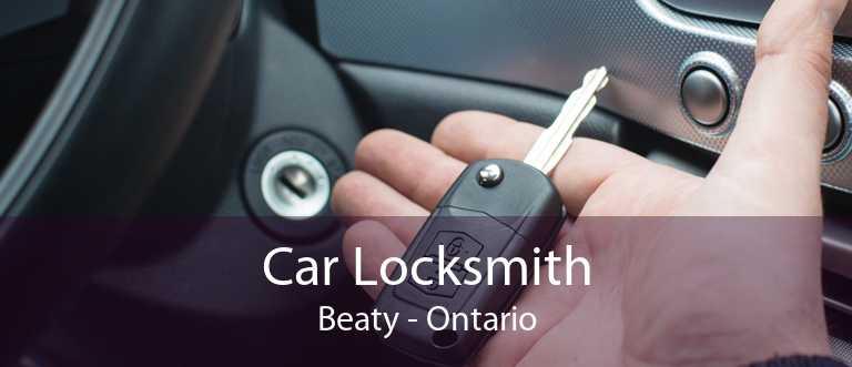 Car Locksmith Beaty - Ontario