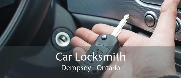 Car Locksmith Dempsey - Ontario
