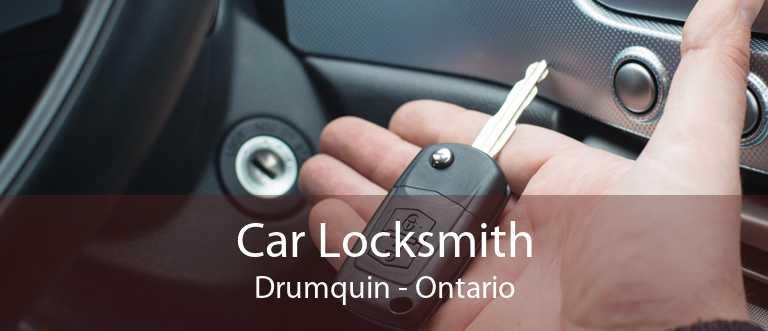 Car Locksmith Drumquin - Ontario
