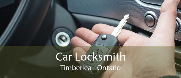Car Locksmith Timberlea - Ontario