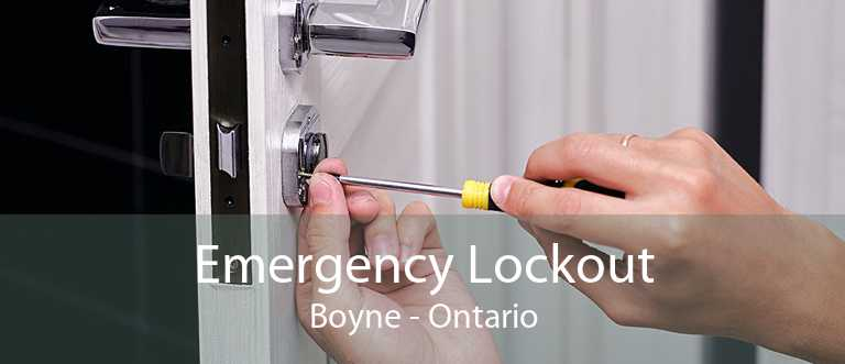 Emergency Lockout Boyne - Ontario