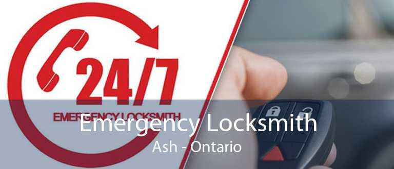 Emergency Locksmith Ash - Ontario