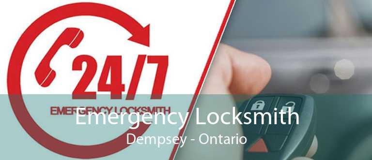 Emergency Locksmith Dempsey - Ontario