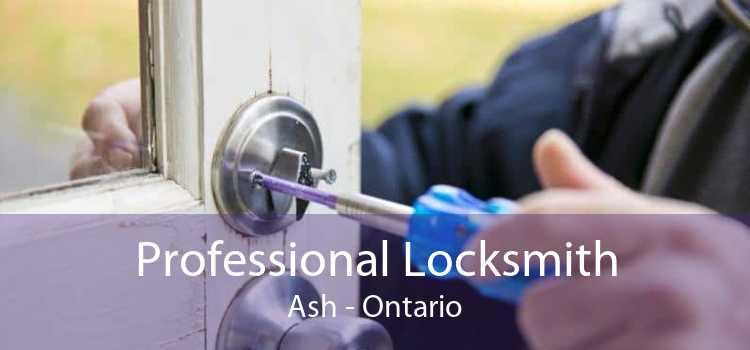 Professional Locksmith Ash - Ontario