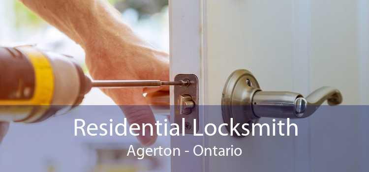 Residential Locksmith Agerton - Ontario