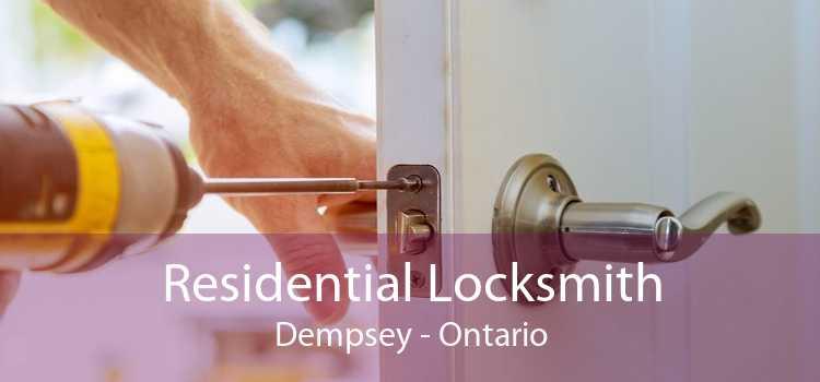 Residential Locksmith Dempsey - Ontario