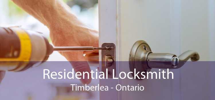 Residential Locksmith Timberlea - Ontario